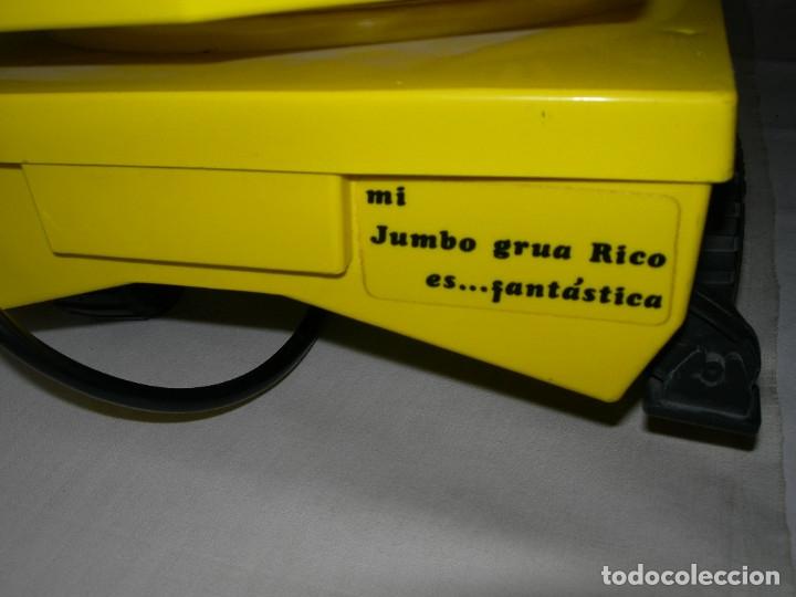 Juguetes antiguos Rico: GRAN CAMIÓN - GRÚA JUMBO CABLEDIRIGIDO ORIGINAL DE RICO DE LOS AÑOS 70 / 80 - MADE IN SPAIN - - Foto 14 - 174333273