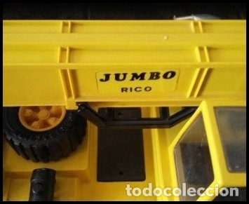 Juguetes antiguos Rico: CAMION GRUA JUMBO MARCA RICO - Foto 12 - 175855005