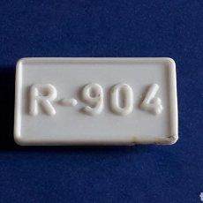 Juguetes antiguos Rico: MATRÍCULA TRASERA, FORD GALAXIE, JUGUETES RICO IBI, ORIGINAL AÑOS 60.. Lote 175996337