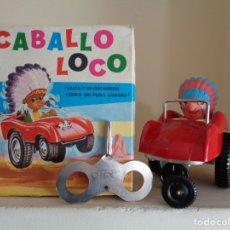 Juguetes antiguos Rico: CABALLO LOCO.RICO. Lote 192587921