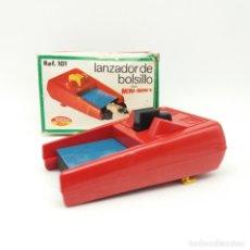 Juguetes antiguos Rico: LANZADOR DE BOLSILLO TONKA - RICO, AÑOS 70. Lote 176805422