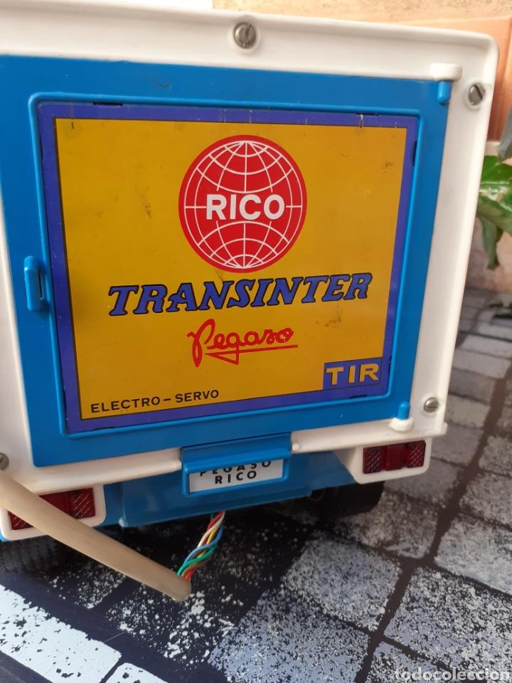 Juguetes antiguos Rico: RICO PEGASO TRANSINTER CABINA BLANCA - Foto 3 - 177377987
