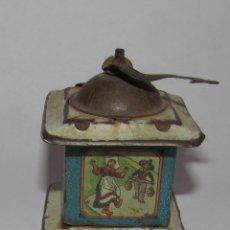 Juguetes antiguos Rico: MOLINILLO DE RICO - R.S.A. HOJALATA LITOGRAFIADA - AZUL. Lote 177504692