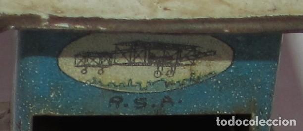 Juguetes antiguos Rico: MOLINILLO DE RICO - R.S.A. HOJALATA LITOGRAFIADA - AZUL - Foto 6 - 177504692