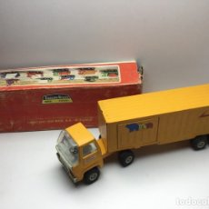 Juguetes antiguos Rico: CAMION TIR - TRAILER SANSON BRAVO RICO - MADE IN SPAIN - CON CAJA ORIGINAL . Lote 177948865