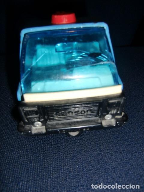 Juguetes antiguos Rico: camion grua de lata metalico - rico - mini sanson grua - Foto 3 - 179098480