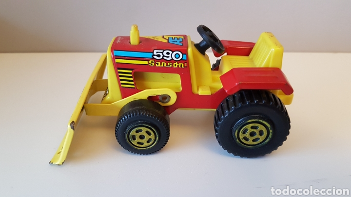 Juguetes antiguos Rico: Tractor sanson bulldozer...rico - Foto 2 - 180228316