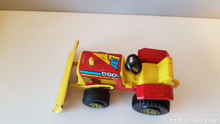 Juguetes antiguos Rico: Tractor sanson bulldozer...rico - Foto 3 - 180228316