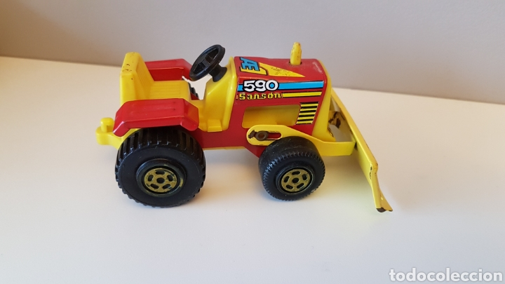 Juguetes antiguos Rico: Tractor sanson bulldozer...rico - Foto 5 - 180228316
