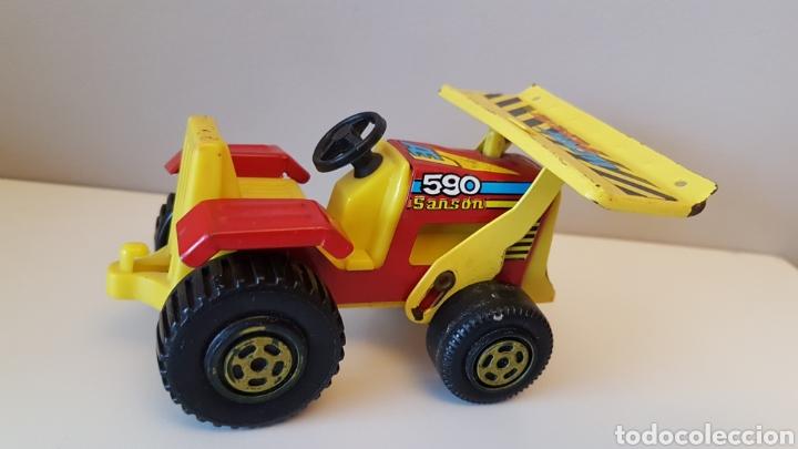 Juguetes antiguos Rico: Tractor sanson bulldozer...rico - Foto 7 - 180228316