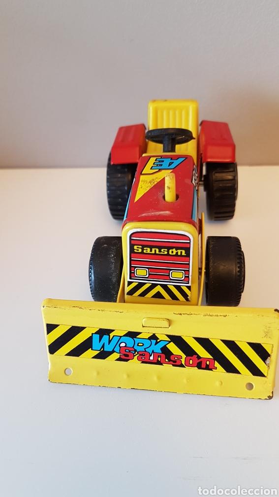 Juguetes antiguos Rico: Tractor sanson bulldozer...rico - Foto 8 - 180228316