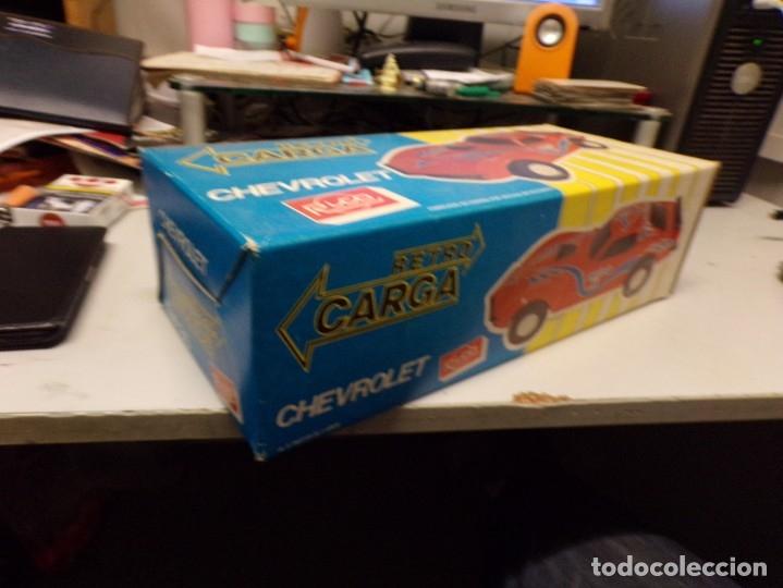 Juguetes antiguos Rico: coche rico chevrolet retro carga nuevo ref 35 - Foto 5 - 180875478