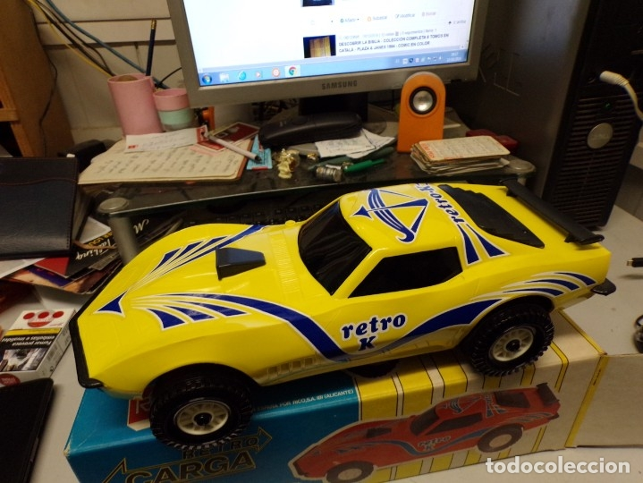 Juguetes antiguos Rico: coche rico chevrolet retro carga nuevo ref 35 - Foto 6 - 180875478