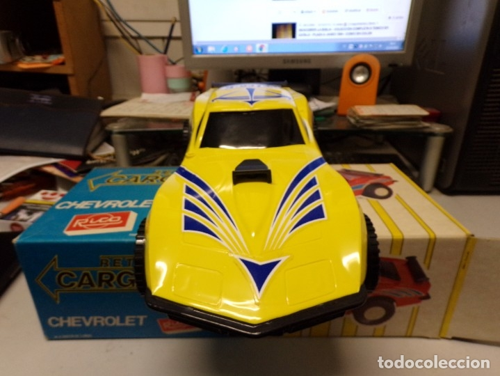 Juguetes antiguos Rico: coche rico chevrolet retro carga nuevo ref 35 - Foto 7 - 180875478