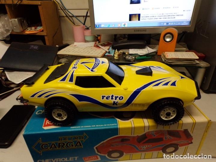 Juguetes antiguos Rico: coche rico chevrolet retro carga nuevo ref 35 - Foto 8 - 180875478