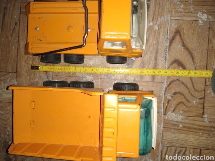 Juguetes antiguos Rico: camion volquete y otro. como se ve - Foto 11 - 57137442