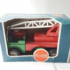 Juguetes antiguos Rico: RICO CAR-MOVIL CON CAJA. Lote 183565313