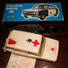 Juguetes antiguos Rico: SEAT 1430 AMBULANCIA RICO . Lote 183587601
