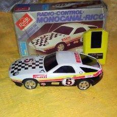 Juguetes antiguos Rico: PORSCHE 928 - RADIO CONTROL - RICO .. Lote 183930767