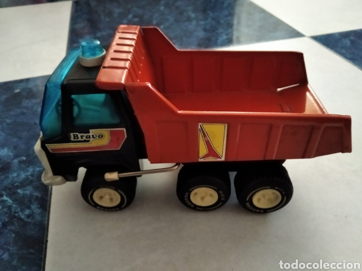 Juguetes antiguos Rico: Camión volquete Sanson de rico - Foto 3 - 184655111