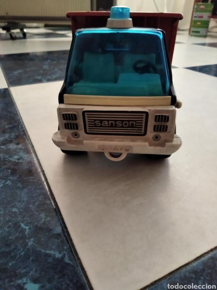 Juguetes antiguos Rico: Camión volquete Sanson de rico - Foto 4 - 184655111