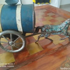 Juguetes antiguos Rico: CABALLO CARRUAJE CISTERNA DEPOSITO ALJIBE RICO SA 1900-1950. Lote 184702447