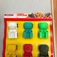 Brinquedos antigos Rico: ANTIGUO BLITERS JEEPS SURTIDOS RICO - JUGUETE AÑOS 70. Lote 185105260