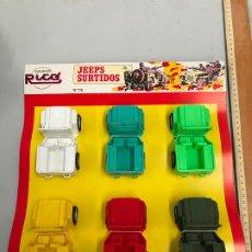 Brinquedos antigos Rico: ANTIGUO BLITERS JEEPS SURTIDOS RICO - JUGUETE AÑOS 70. Lote 185105486