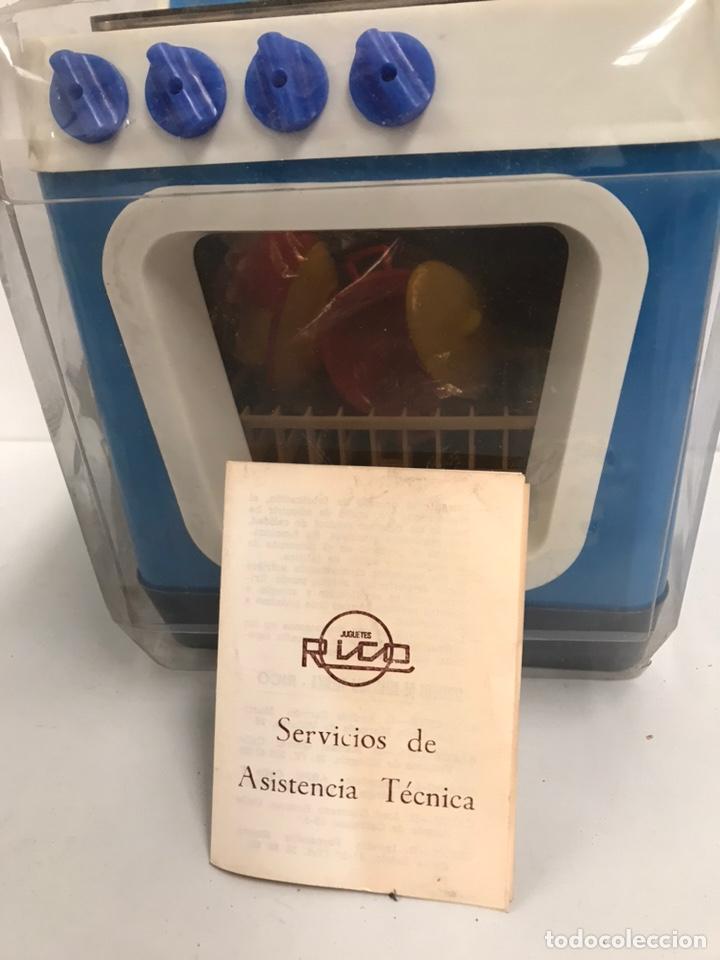 Juguetes antiguos Rico: ANTIGUO LAVAPLATOS RICO CON CAJA - Foto 3 - 185301356