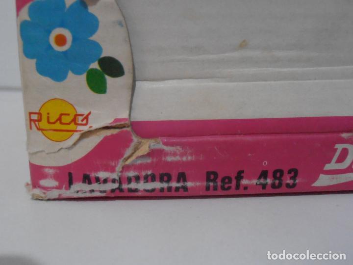 Juguetes antiguos Rico: LAVADORA CAJA RICO DALILA REF 483, AÑOS 70 - Foto 2 - 185342427