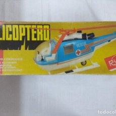 Juguetes antiguos Rico: HELICOPTERO DE RICO ELECTRICO CONDUCIDO EN CAJA/MBE¡¡¡.. Lote 187179867