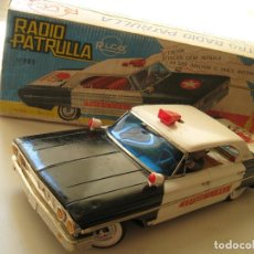 Juguetes antiguos Rico: FORD GALAXIE RADIO PATRULLA RICO Nº 905 -THE MAN FROM U.N.C.L.E (AGENTE CIPOL)- AÑOS 60 SPAIN. Lote 189379667
