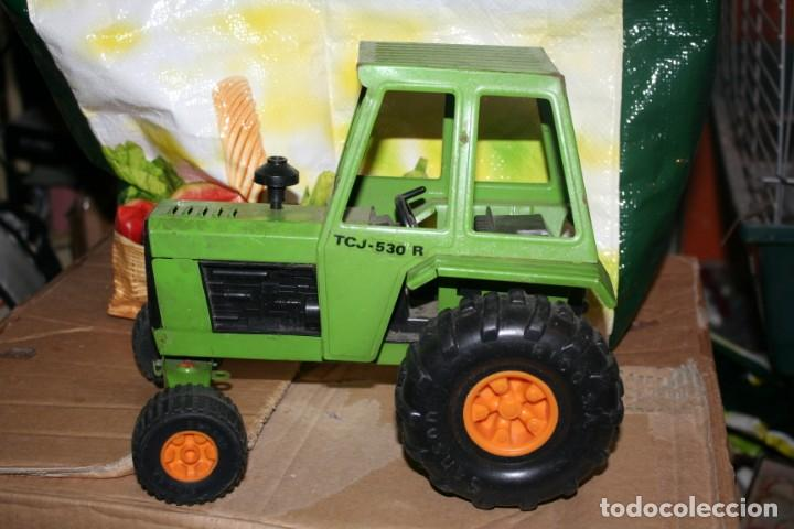 Juguetes antiguos Rico: tractor de rico numero tcj-530 r antiguo - Foto 3 - 190033130