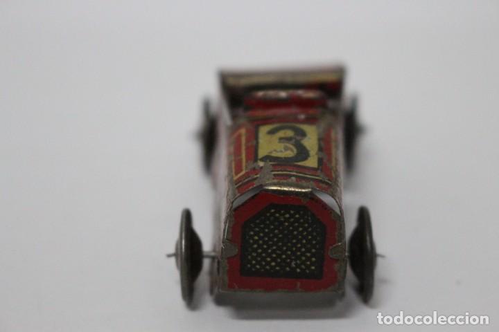 Juguetes antiguos Rico: Coche de carreras Rico nº 3. Ref 606. Años 30. Buen estado - Foto 2 - 190779055