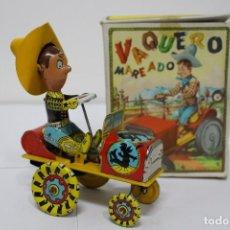Juguetes antiguos Rico: VAQUERO MAREADO DE RICO. NUEVO EN LA CAJA SIN USAR. FUNCIONANDO. Lote 190825532