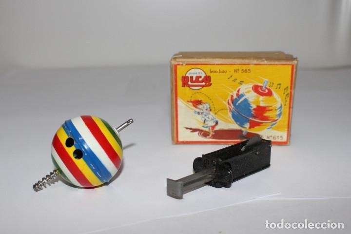Juguetes antiguos Rico: Peonza Rico ref 615 con caja original. como nueva - Foto 2 - 191158772