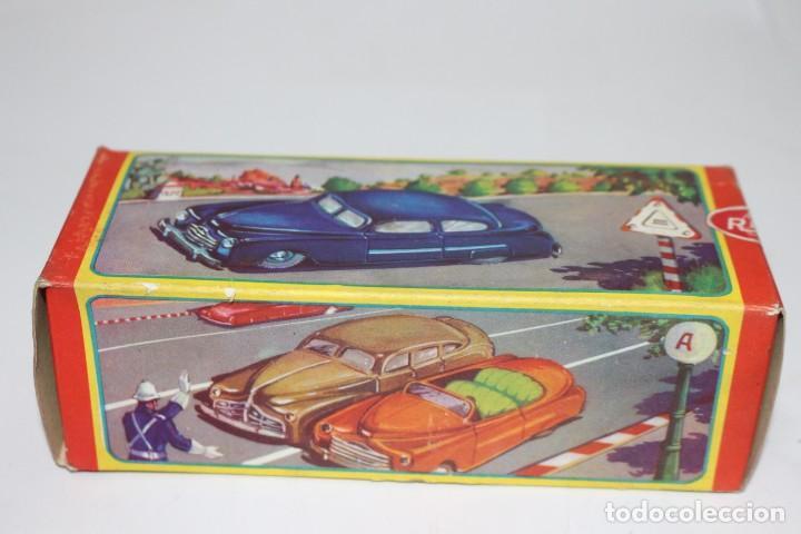 Juguetes antiguos Rico: Coche de policía Rico nº 219 con caja. Fricción funcionando. Buen estado - Foto 11 - 191537450