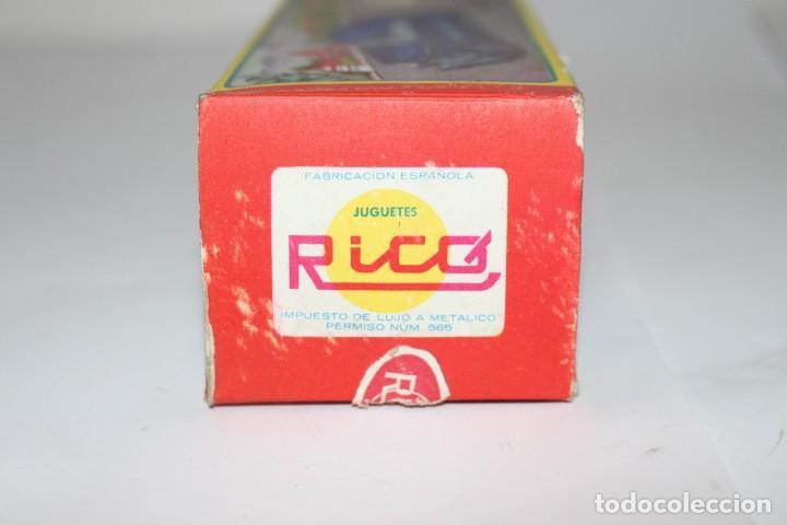 Juguetes antiguos Rico: Coche de policía Rico nº 219 con caja. Fricción funcionando. Buen estado - Foto 12 - 191537450