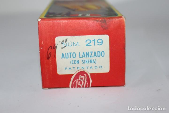 Juguetes antiguos Rico: Coche de policía Rico nº 219 con caja. Fricción funcionando. Buen estado - Foto 13 - 191537450