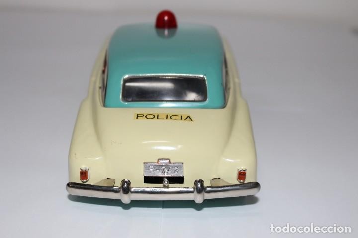 Juguetes antiguos Rico: Coche de policía Rico nº 742, muy buen estado y funcionando - Foto 4 - 191630717