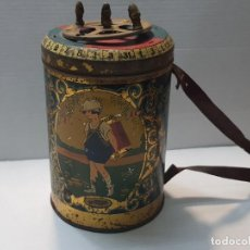 Juguetes antiguos Rico: BARQUILLERA HOJALATA R.S.A. DE RICO AÑOS 20 PRIMEROS MODELOS. Lote 193266927