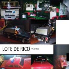 Juguetes antiguos Rico: LOTE DE RICO Y JYESA EN RADIOCONTROL URGE VENTA. Lote 194213168