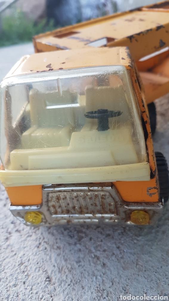 Juguetes antiguos Rico: Camion cargacoches rico sanson - Foto 2 - 194217238
