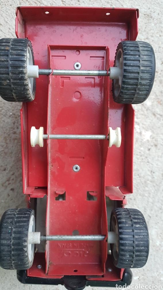 Juguetes antiguos Rico: Camion chapa coca cola Rico - Foto 4 - 194321161
