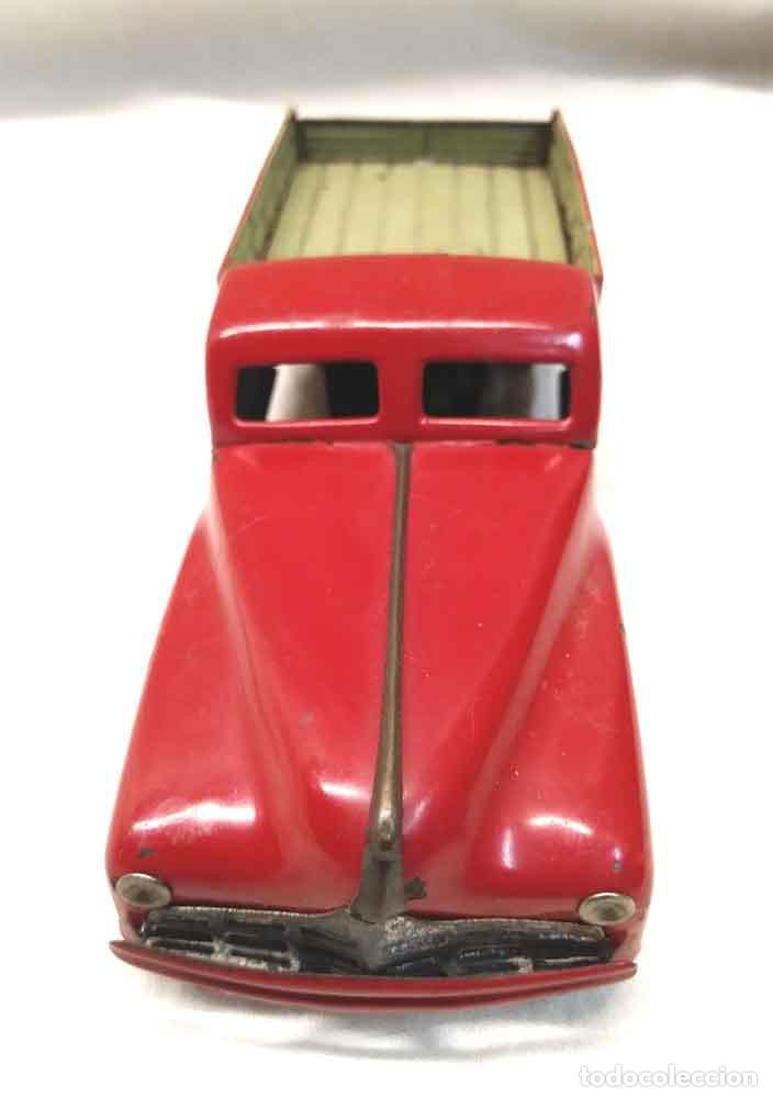 Juguetes antiguos Rico: Camion 222 de Rico años 40 original, buen estado, hojalata. Med. 14 cm - Foto 2 - 194361372
