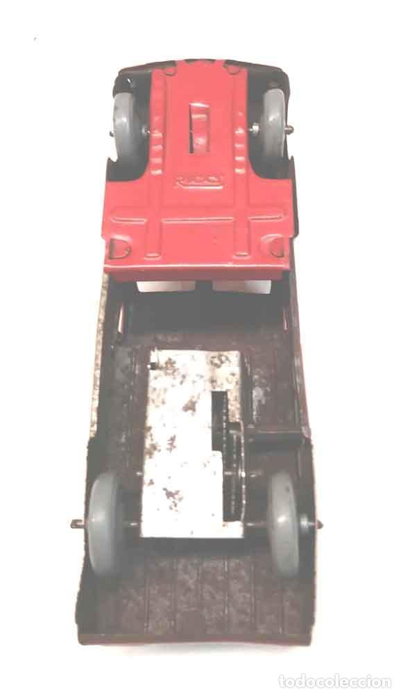 Juguetes antiguos Rico: Camion 222 de Rico años 40 original, buen estado, hojalata. Med. 14 cm - Foto 6 - 194361372