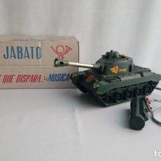 Juguetes antiguos Rico: EL TANQUE JABATO DE RICO. Lote 194556037