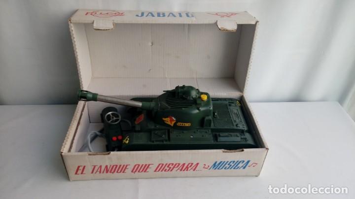 Juguetes antiguos Rico: El tanque jabato de Rico - Foto 3 - 194556037