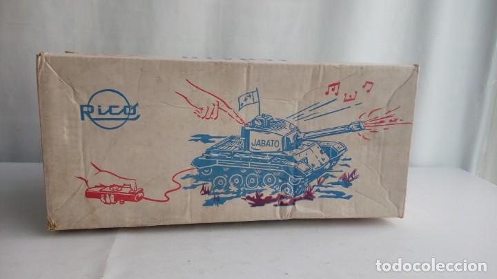 Juguetes antiguos Rico: El tanque jabato de Rico - Foto 13 - 194556037
