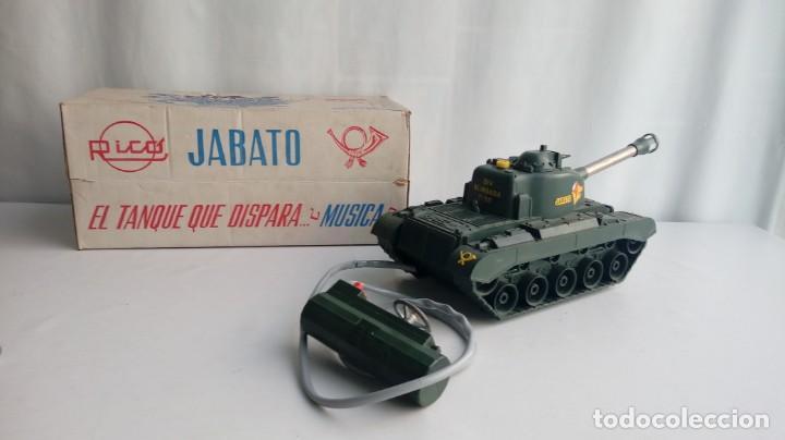 Juguetes antiguos Rico: El tanque jabato de Rico - Foto 22 - 194556037